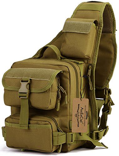 Tas Slempang Shoulder Tactical Army Desert arcenciel army tactical chest pack molle