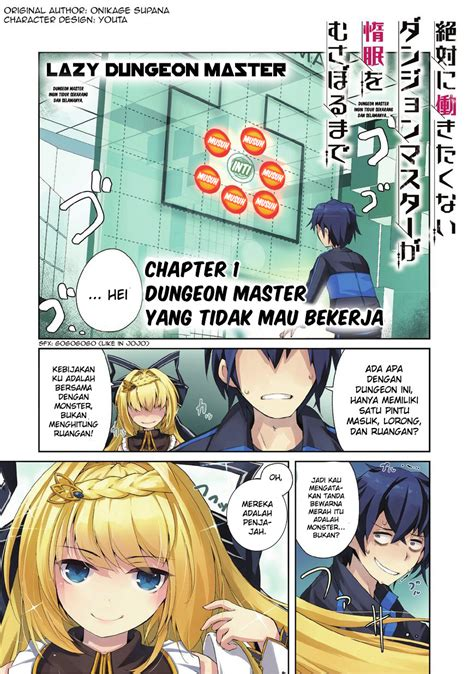 Master Bahasa Indonesia lazy dungeon master bahasa indonesia chapter 01 1 otakufile