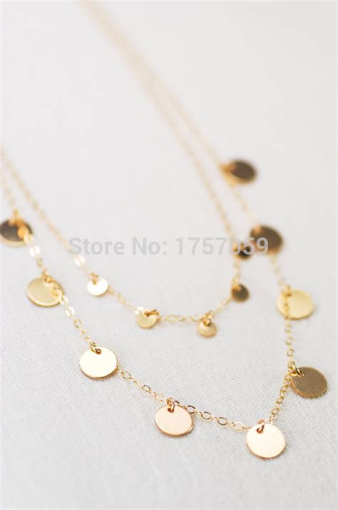 aliexpress maroc aliexpress com buy gold layered coin necklace ethnic