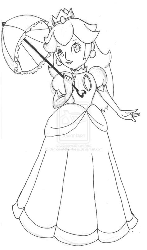 princess peach coloring pages printable az coloring pages