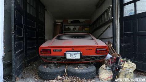 Where To Find A Lamborghini Barn Find Lamborghini Miura