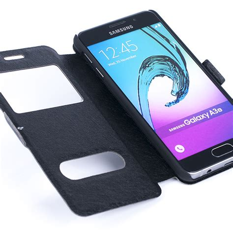 Flipcase View Samsung Galaxy A3 flip cover tpu window view samsung galaxy a3 2016 sm