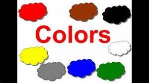 colors for toddlers colors for