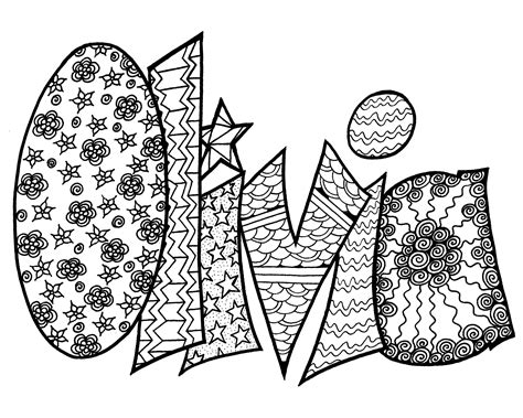 printable coloring pages with names printable coloring pages names