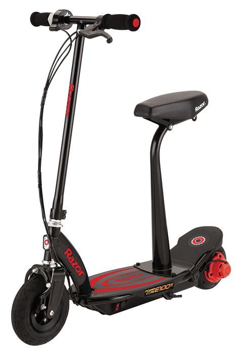 razor electric scooter with seat e100 razor e100s power electric scooter with seat