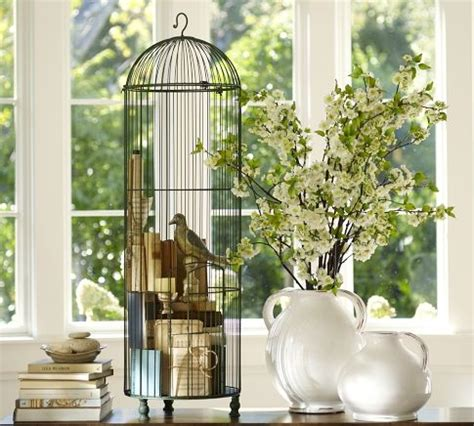 bird cage home decor decorating with vintage bird cages