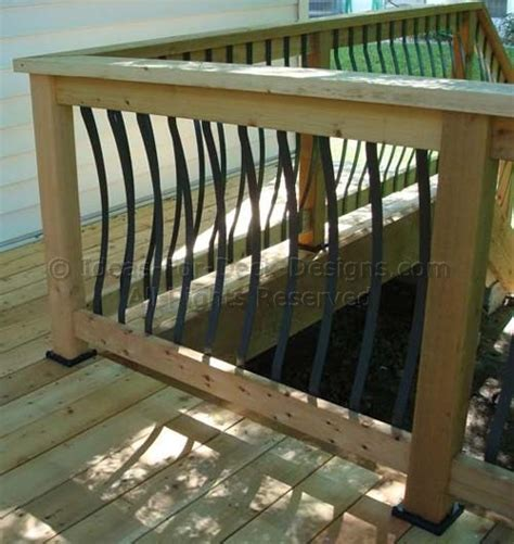 Deck Railing Pickets Aluminum Railing Learn About This Low Maintenance Metal