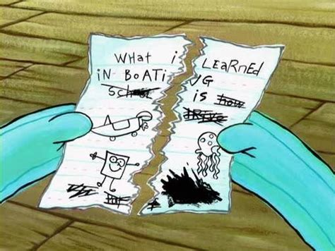 Spongebob Boating Essay by What I Learned In Boating School Is A Seniors Kansas Regionals Report And Reflecting On