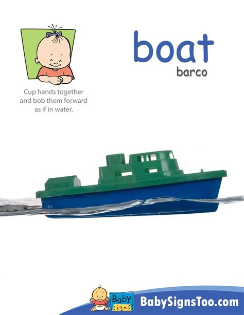 boat in sign language 60 best early communication skills asl images on