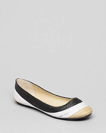 enzo shoes flats enzo angiolini ballet flats bullseye lyst