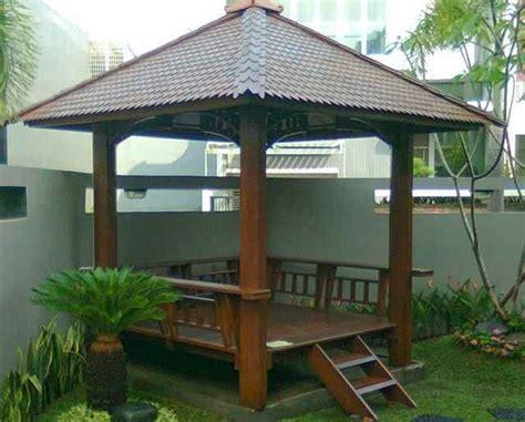 desain mushola kayu contoh desain gazebo rumah minimalis modern sederhana
