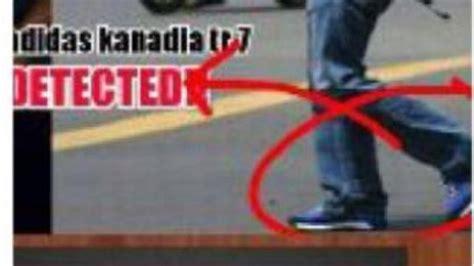 Tas Selempang Polisi Thamrin teroris bom sarinah pakai sepatu adidas seharga rp 1 000