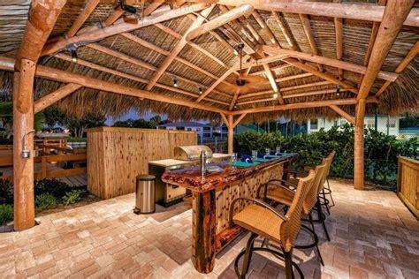 Portable Tiki Hut by Custom Tiki Hut Tiki Bar Outdoor Kitchen In Osprey