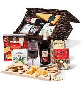 cheese and wine gift baskets wine and cheese gift basket ideas images