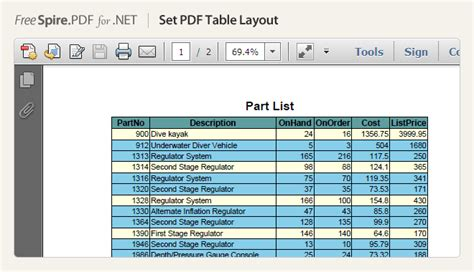 html tutorial table pdf free net pdf component developing pdf in c vb net