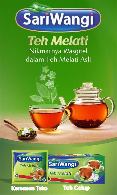 Teh Sariwangi Melati nikmatnya wasgitel dalam teh melati asli