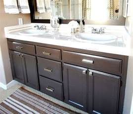 How To Paint Bathroom Cabinets Ideas Bathroom Q A Giveaway Centsational