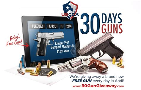 Uscca Giveaway 2017 - u s concealed carry association to give away 30 guns in april outdoorhub