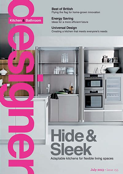 designer kitchen and bathroom magazine designer kitchen bathroom july 2013 187 pdf magazines