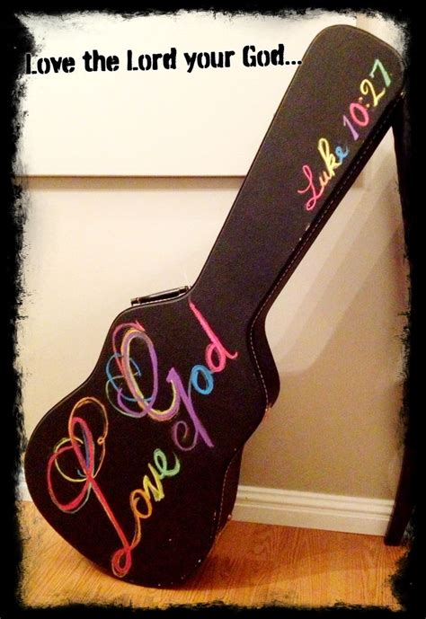 chalk paint guitar 50 best images about painted guitar ideas on