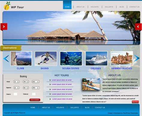 travel portal templates our templates web designing company in delhi web templates