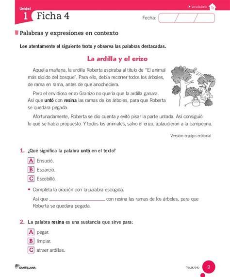 respuestas de los libros de texto 4 todas las respuestas cuaderno actividades lenguaje 2 186 ideas para el aula