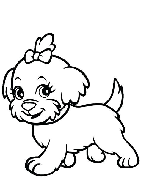 free printable coloring pages of cute puppies cute puppy coloring pages for girls free