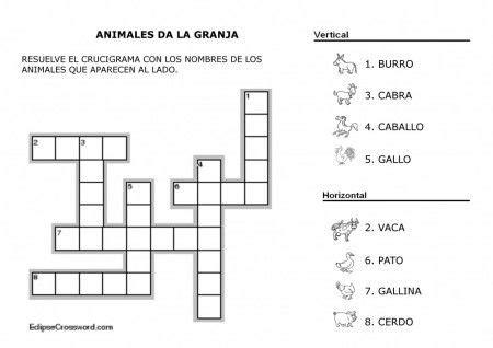preguntas faciles sobre animales crucigrama sobre animales dom 233 sticos proyectos que debo