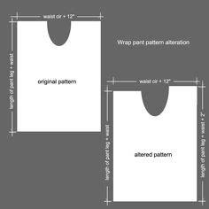 pattern maker thailand wrap pants tutorial by pinkjusticecosplay deviantart com