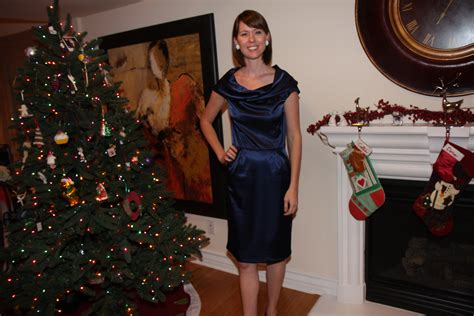 office christmas party dress sewing projects