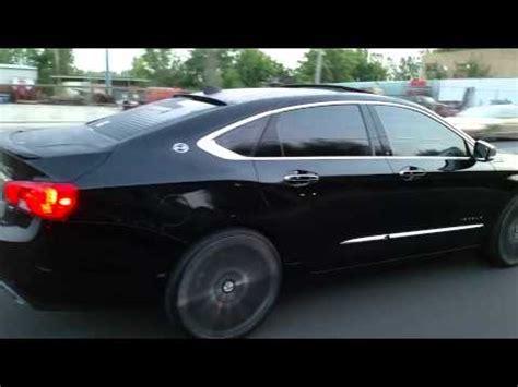 2014 impala on 24s 2014 chevy impala ltz skating on 24 s