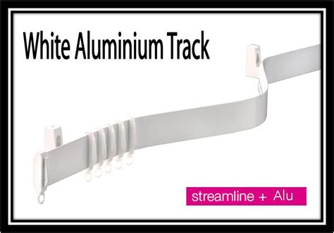 flexible curtain rails for bay windows straight or bay window white alu flexi curtain track ebay