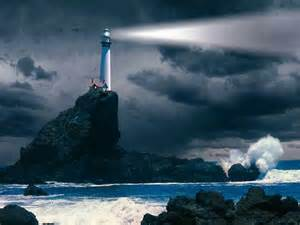 the lighthouse and the searchlight grace revealed