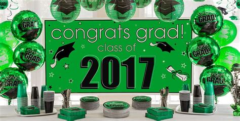 green and decorations green congrats grad graduation decorations city