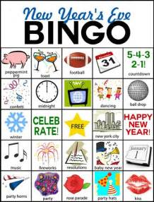 new years eve bingo and new year s on pinterest