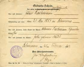 german birth certificate template 7 best images of birth certificate germany german birth