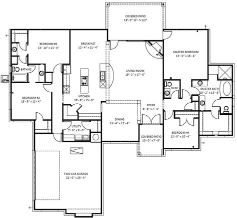 customizable house plans floor plans for small homes custom cottage floor plans