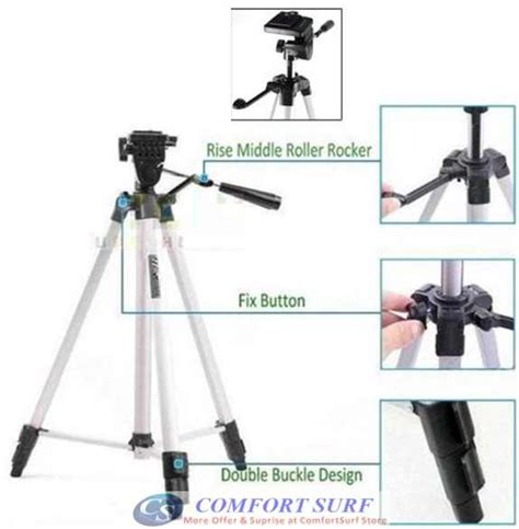 ketai kt 330a foldable camcorder tripod with free