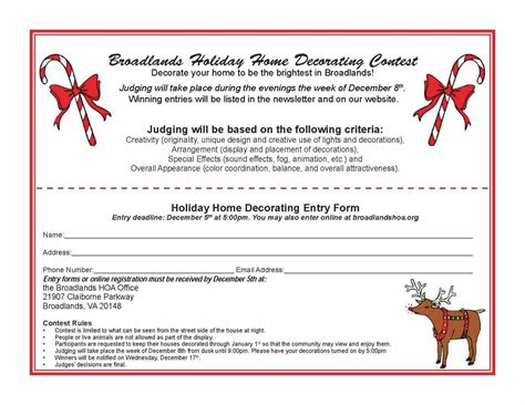 office holiday decorating contest flyer door contest flyer kapan date