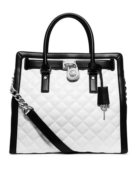 Michael Kors Hamilton Quilted Tote by Michael Michael Kors Hamilton Quilted South Tote Bag
