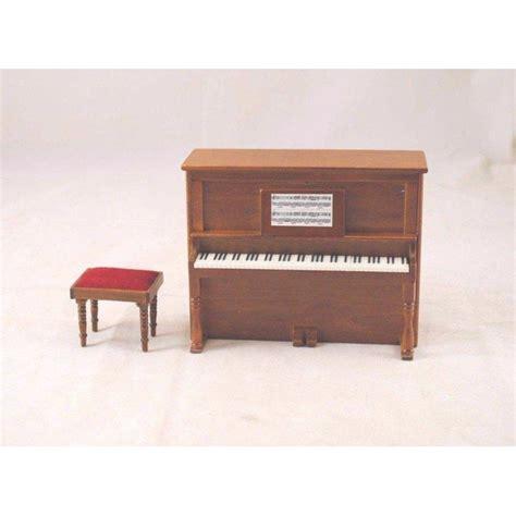 raised on walnut ridge my hoosier books upright piano w bench d7081a miniature dollhouse