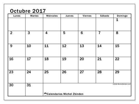 imagenes de octubre calendario octubre 2017 para imprimir gratis calendario