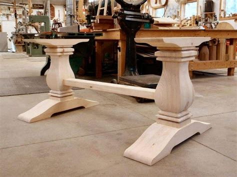 collection  dining tables  large legs