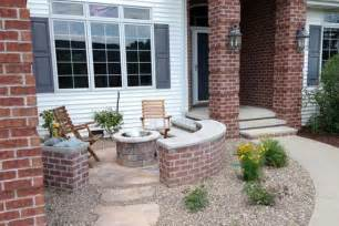 Patio Ideas For Front Of House by Front Yard Patio Ideas Small Front Yard Patio Ideas