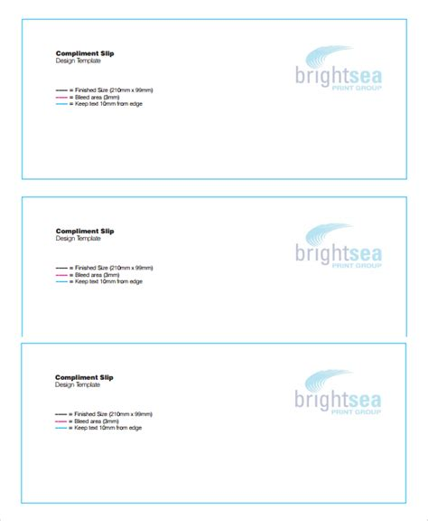 With Compliments Card Template Free by Compliments Slip Template Baskan Idai Co