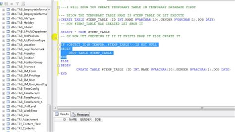 create temp table sql sql temporary table cabinets matttroy