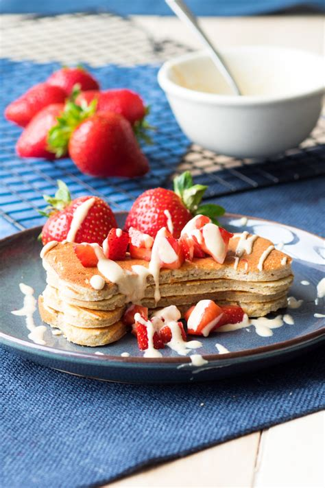 can dogs pancakes buckwheat pancakes with peanut butter drizzle gf the worktop