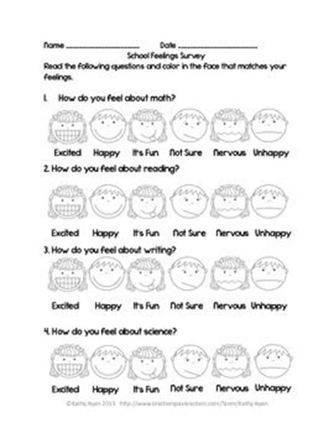 printable learning styles questionnaire interest inventories learning style surveys and attitude