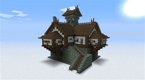 city and guild walled garden large glass walled minecraft house picmia