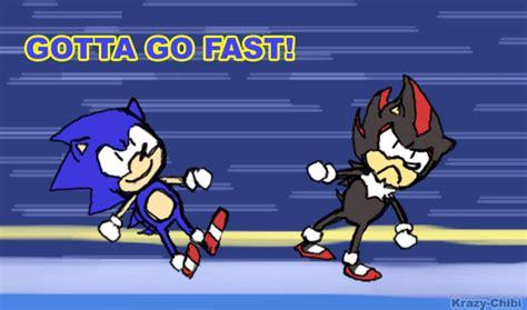 Sonic Gotta Go Fast Meme - site unavailable